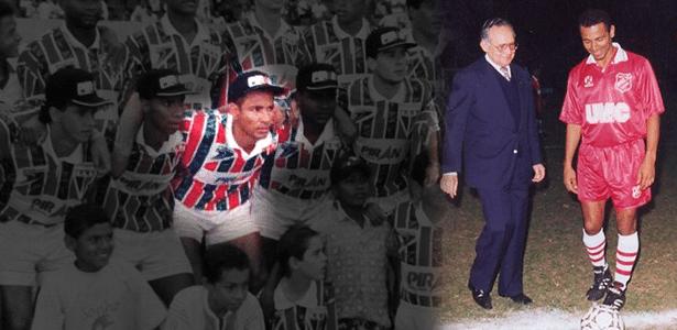 Neymar pai defendeu times como o Operário de Várzea Grande e o União Mogi