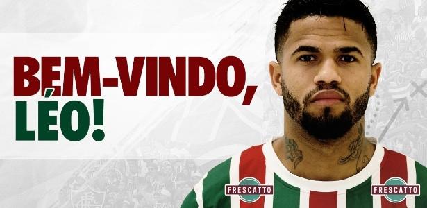 a49ffe525b Fluminense anuncia lateral Léo