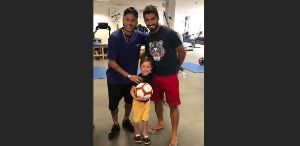 Neymar mantém relação com seus ex-companheiros do Barcelona - Reprodução/Instagram