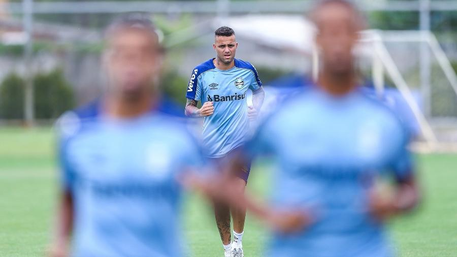Luan tem contrato com o Grêmio até o final de 2020 e deve ser negociado nesta janela - Lucas Uebel/Grêmio FBPA
