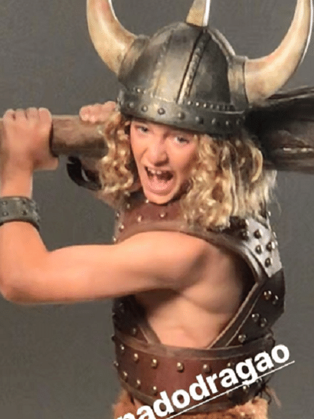Thiago Doncev interpreta Bobby em comercial sobre Caverna do Dragão - Reprodução/Instagram