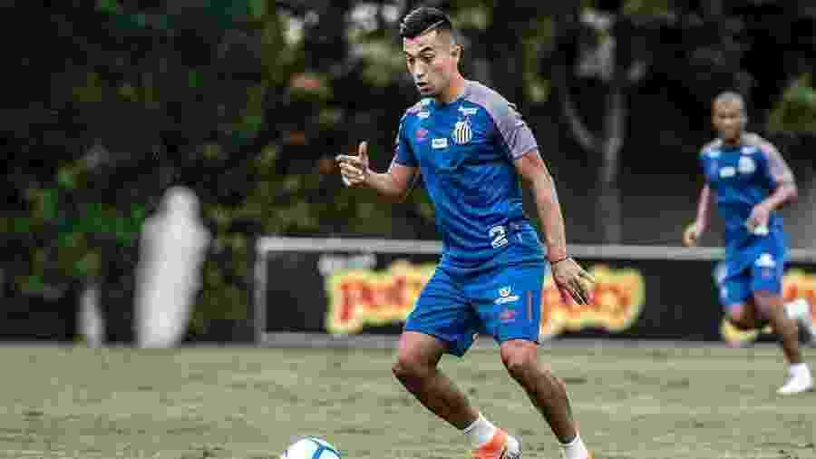Fernando Uribe pode ser hoje o centroavante que faltou ao Santos na eliminação para o Corinthians no Paulista - Ivan Storti/Santos FC