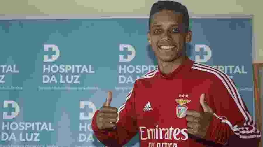 Pedrinho, jogador do Benfica - Divulgação/Benfica