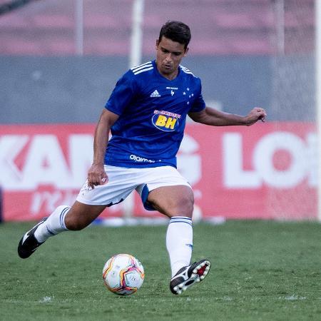 Volante Jean, em atuação pelo Cruzeiro - Gustavo Aleixo/Cruzeiro