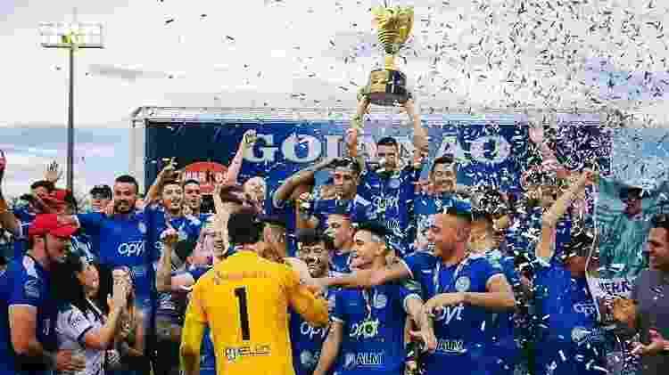 Goiatuba Esporte Clube retomou as atividades em 2019 e venceu terceira divisão goiana - Divulgação - Divulgação