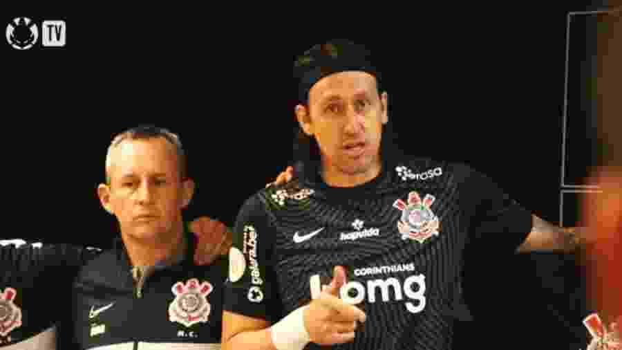 Cássio desabafa antes de jogo conta o Bahia pelo Brasileirão - Reprodução/TV Corinthians