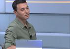 Maior que Messi e Neymar? Rizek se rende a Romero e corneta Cereto (Foto: Reprodução/SporTV)