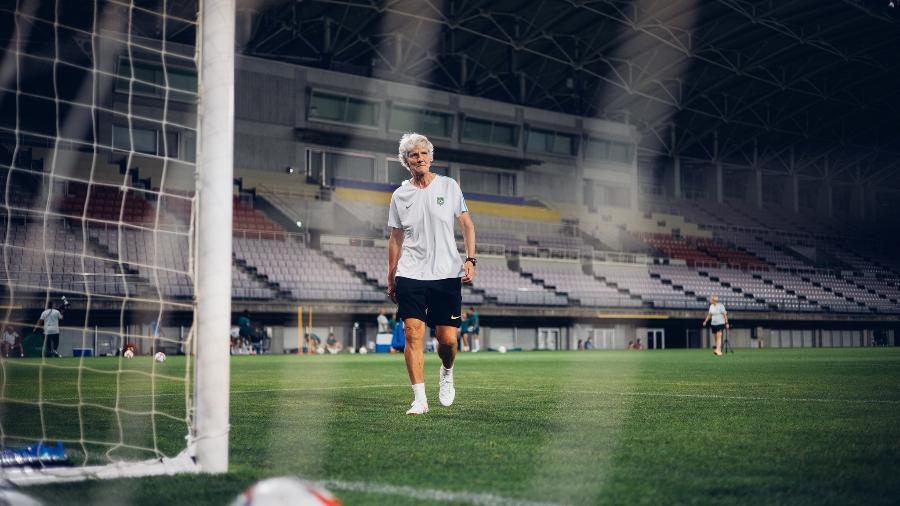 Pia Sundhage, técnica da seleção brasileira de futebol feminino - Sam Robles/CBF