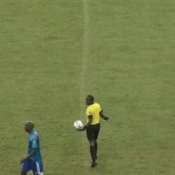 Fato aconteceu no duelo entre República Centro-Africana e Cabo Verde