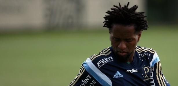Zé Roberto voltou a treinar normalmente no Palmeiras