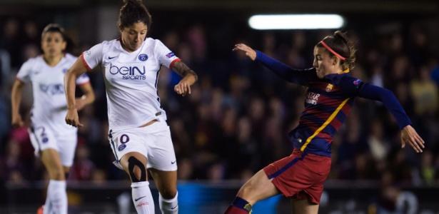 Cristiane garantiu vaga do time francês ao marcar no fim do jogo - Alex Caparros/Getty Images