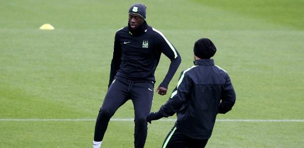 Yaya Touré desfalcou o City no jogo de ida, mas deve jogar no Bernabéu