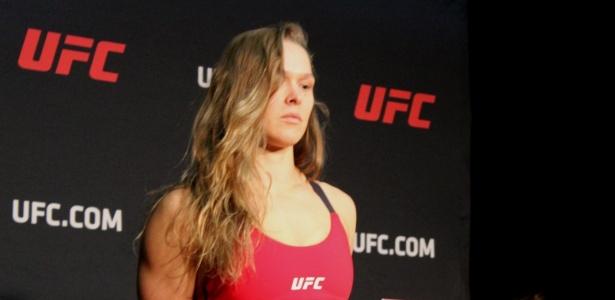Ronda adotou a discrição na preparação para a luta contra Amanda Nunes - Diego Ribas/AgFight