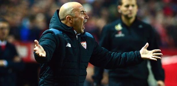 Sampaoli tem contrato até 2018, mas Sevilla quer ampliar por mais um ano  - Cristina Quicler/AFP