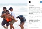 Brasileiro sofre lesão e sai carregado em treino para Mundial de surfe - Reprodução/Stab Magazine