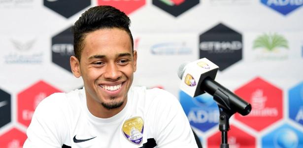 Brasileiro Caio Lucas defende desde 2016 o Al Ain, dos Emirados Árabes Unidos