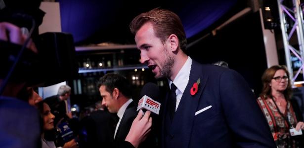 Harry Kane durante o prêmio de melhor jogador do mundo - EDDIE KEOGH/REUTERS