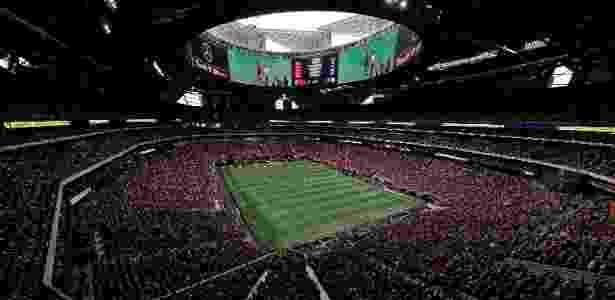 O Mercedes-Benz Stadium durante partida da MLS, nos EUA - Kevin C. Cox - 22.out.2017/Getty Images/AFP - Kevin C. Cox - 22.out.2017/Getty Images/AFP