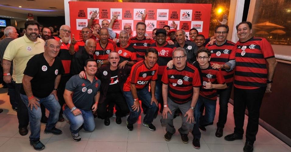 Lançamento da candidatura de Rodolfo Landim à presidência do Flamengo