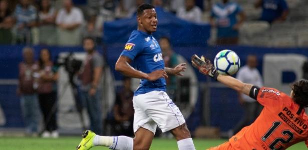 David se destacou com as cores do Cruzeiro em vitória sobre o Guarani-MG na estreia do Mineiro - Marcelo Alvarenga/AGIF