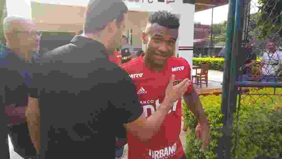 Volante do Tricolor retornou ao CT da Barra Funda após defender a seleção sub-20 - Bruno Grossi/UOL Esporte