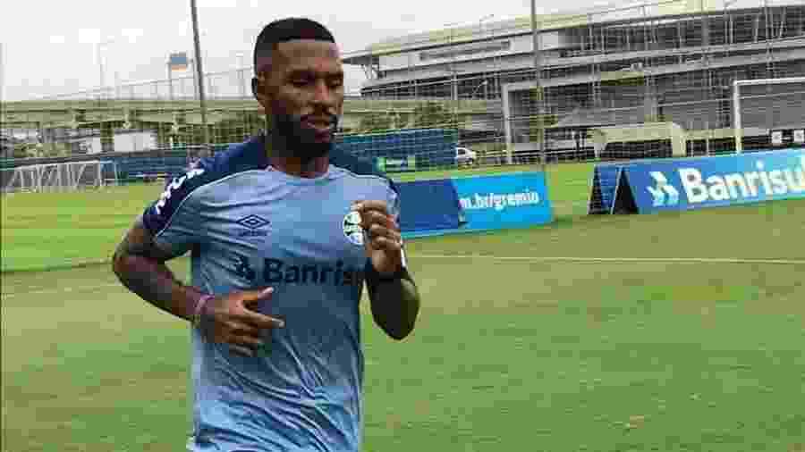 Paulo Miranda realiza treinamento físico e pode voltar ao Grêmio na segunda rodada do Brasileiro - Guilherme Chaves/MS+Sports