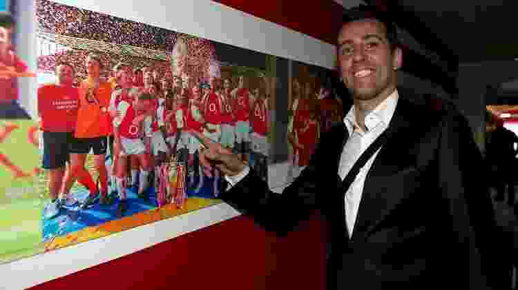 Edu Gaspar é anunciado como novo diretor do Arsenal  - Divulgação  - Divulgação