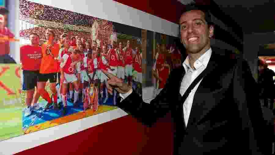 Edu Gaspar é anunciado como novo diretor do Arsenal  - Divulgação