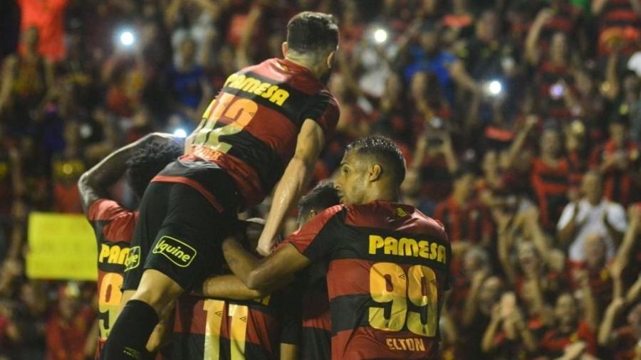 Sport comemora gol na Série B 2019 - Anderson Stevens/Sport Recife