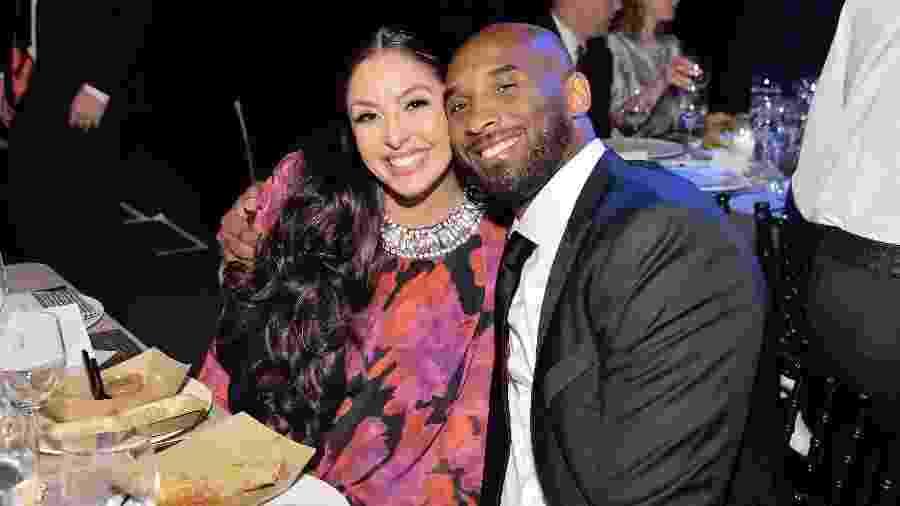 Kobe Bryant e Vanessa Bryant em uma das últimas aparições públicas do casal - Stefanie Keenan/Getty Images for Baby2Baby
