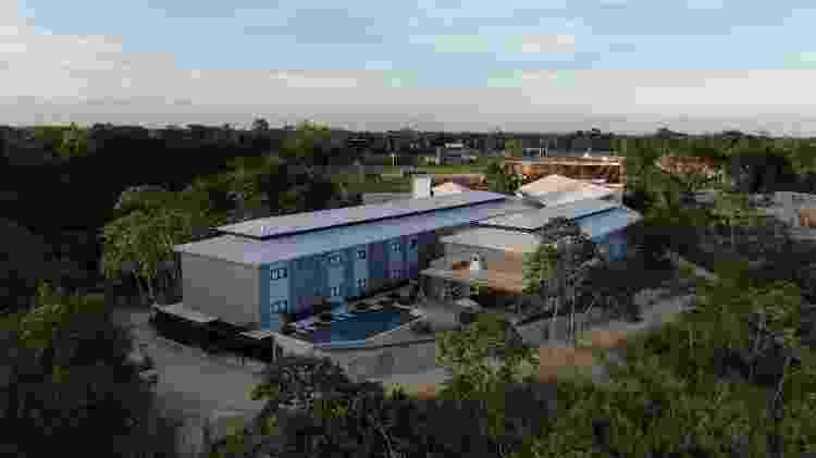 CT do Retrô FC tem 64 apartamentos e área para eventos - Hugo Lopes/Divulgação Retrô FC - Hugo Lopes/Divulgação Retrô FC