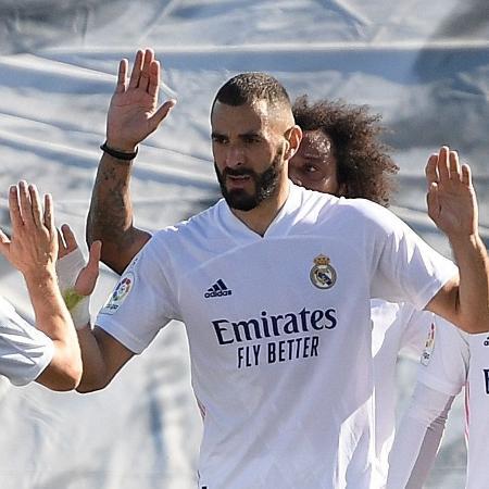 """Karim Benzema será julgado por """"cumplicidade na tentativa de chantagem"""" - Oscar Del Pozo/AFP"""