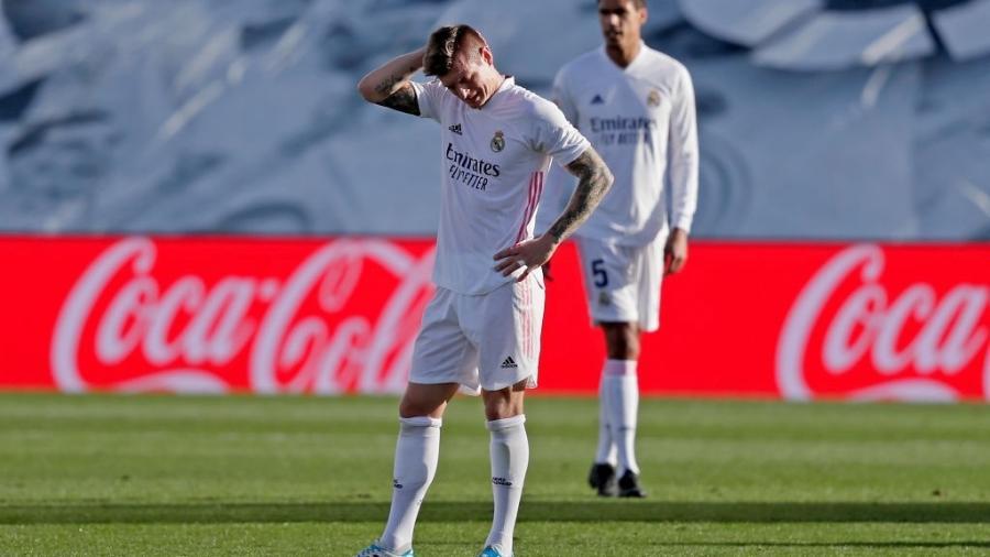 Apesar do resultado, Real Madrid segue como vice-líder do Campeonato Espanhol - David S. Bustamante/Soccrates/Getty Images