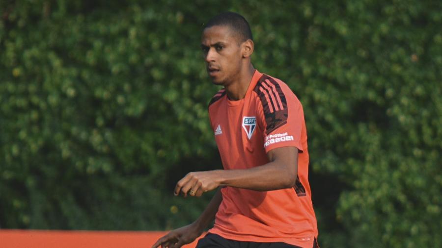 Bruno Alves em treino do São Paulo - Erico Leonan / saopaulofc