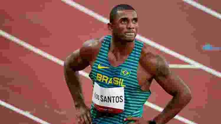 Felipe dos Santos terminou final do decatlo nas Olimpíadas de Tóquio no 18º lugar - Phil Noble/Reuters - Phil Noble/Reuters