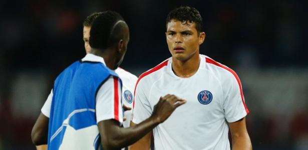Thiago Silva pretende continuar no PSG