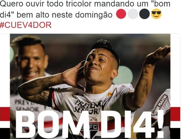 São Paulo provoca o Corinthians no Twitter