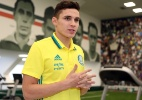Eduardo Baptista testa Raphael Veiga entre os titulares no Palmeiras - Fábio Menotti/Ag. Palmeiras