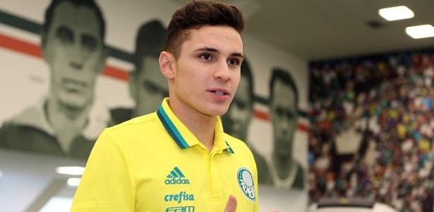 Raphael Veiga é o primeiro reforço anunciado pelo Palmeiras para a próxima temporada