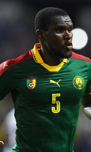 Michael Ngadeu-Ngadjui, da seleção de Camarões, na Copa Africana de Nações 2017