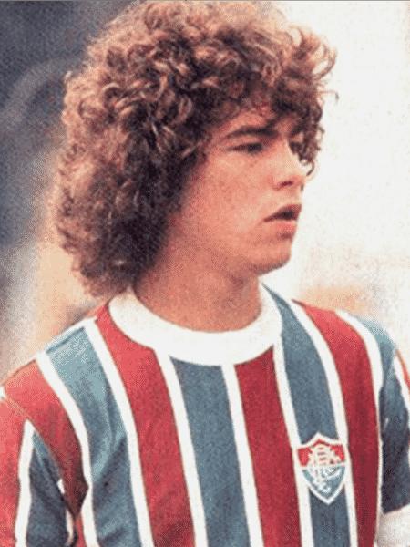 Edinho, ex-zagueiro do Fluminense - Reprodução