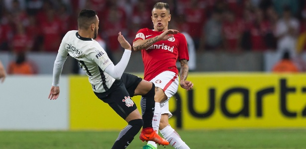 D'Alessandro está fora do jogo de volta entre Internacional e Corinthians
