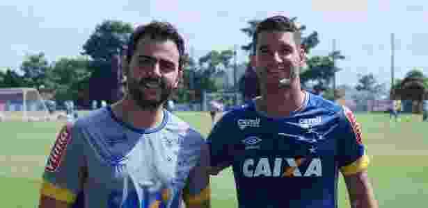 Na entrada do campo, meia comentou sobre boa condição para jogar o clássico - Cruzeiro/Divulgação