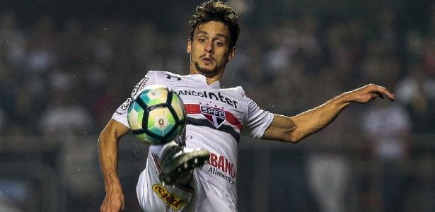 Rodrigo Caio é o jogador com mais partidas pelo São Paulo no elenco atual