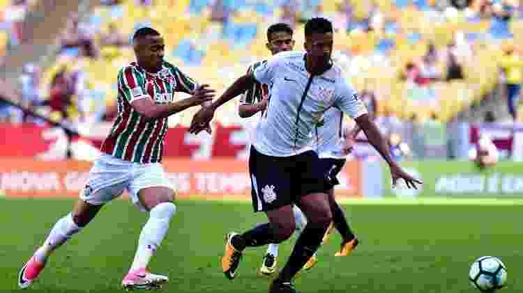 Marlon Freitas durante passagem pelo Fluminense - Thiago Ribeiro/AGIF - Thiago Ribeiro/AGIF
