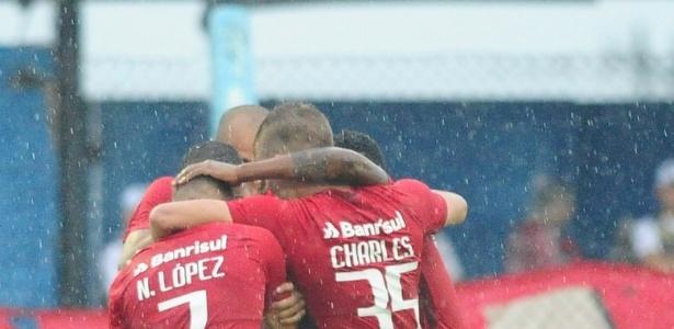 Time reserva do Inter aplicou 3 a 0 no Novo Hamburgo, no estádio do Vale - Ricardo Duarte/Divulgação SC Inter