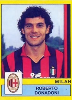 ROBERTO DONADONI, técnico do Bologna que já treinou a seleção da Itália, fez história como meia do Milan nas décadas de 80 e 90