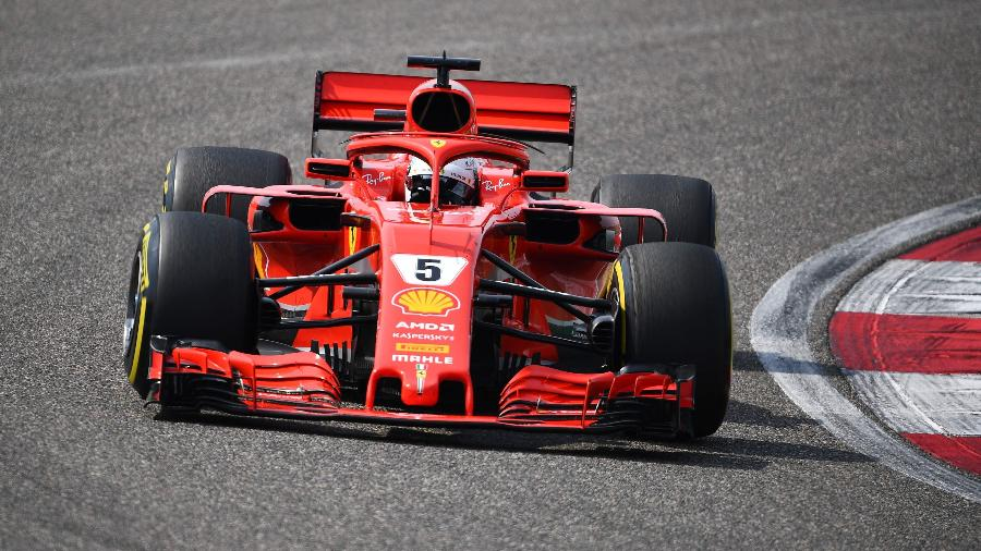Sebastian Vettel corrida GP China - AFP PHOTO / Johannes EISELE