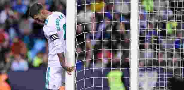 Os atrasos de Sergio Ramos na reapresentação ao Real Madrid geram mal-estar - JORGE GUERRERO/AFP