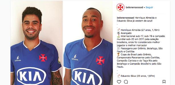 Henrique Almeida e Eduardo Henrique foram anunciados pelo clube português